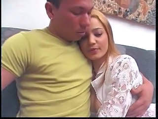 Melina and Ricardo strapon love