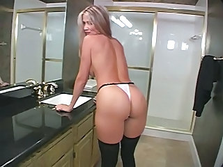 Panty Ass Bathroom Bathroom Mom Milf Ass