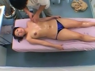 HiddenCam Oiled Massage Asian Big Tits Ass Big Tits Big Tits Milf