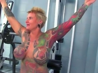 Sport Tattoo Big Tits Big Tits Mature Gym Mature Big Tits