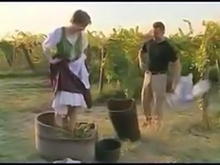 Retro couple Outdoor Vintage classic storyline sex