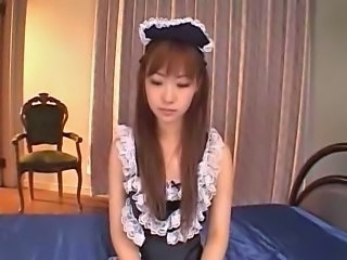 JAPANESE MAID DP CREAMPIE