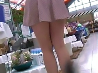 bend over upskirt