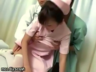 Japanese asian nurse groped by  ... free