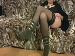 Turkish Amazing Legs Stockings Milf Stockings Mature Cumshot