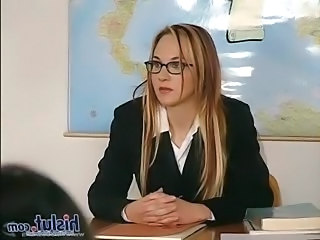 Babe Glasses Pornstar Babe Ass School Teacher