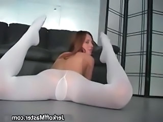 Pantyhose Flexible Ass Cheerleader Cute Ass Cute Teen