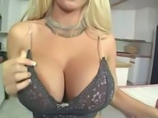 Silicone Tits Blonde Lingerie Milf Lingerie