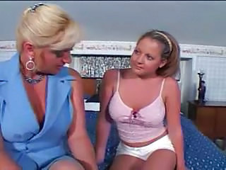 Mature Woman Young Girl - Two Whores.