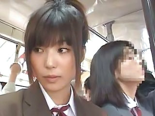 Bus Public Student Asian Babe Asian Teen Bus + Asian