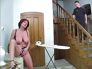 Voyeur Old and Young Redhead Big Tits Mom Big Tits Redhead Big Tits Wife