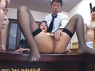 Aya Matsuki Kinky Asian Doll In Office Part5