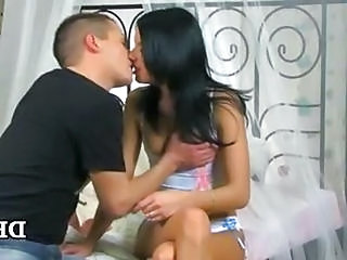 Brunette First Time Kissing First Time Kissing Teen Teen First Time