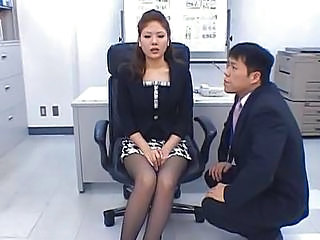 Stockings Office  Japanese Milf Kinky Milf Asian