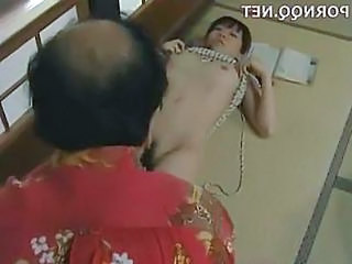 Daughter Old and Young Japanese Asian Teen Dad Teen Daddy