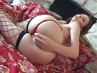 Fishnet Amazing Ass Cute Ass Cute Brunette Cute Masturbating
