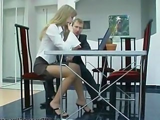 Pantyhose Secretary Russian Blonde Teen Cumshot Teen Panty Teen