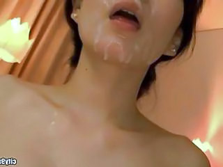 Korean Facial  Asian Cumshot Beautiful Asian Milf Asian