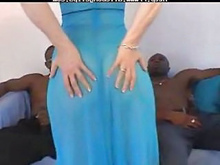Trio Cul Interracial Lleterada Cul Cul Negreta Interracial Trio