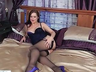 Amazing Legs MILF Dildo Milf Dirty Milf Stockings