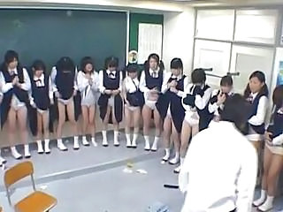 School Teen Japanese Asian Teen Classroom Japanese School