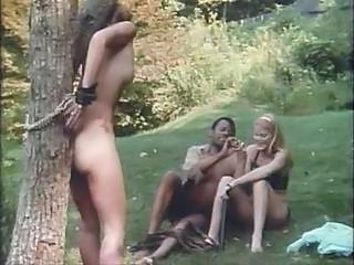Interracial Slave Bondage