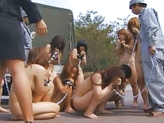 Nudist Bdsm Japanese Slaves Arrive At Bizarre Ranch