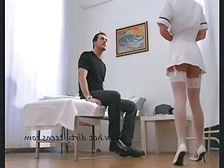Nurse Stockings Uniform Stockings Squirt Orgasm