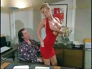 Hot Blonde Secretary T.j. Hart B...