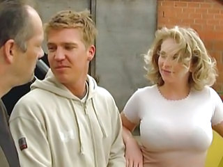 German Outdoor Threesome Big Tits Blonde Big Tits German Big Tits Milf