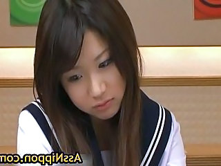Lovely Jap Student Gets Toyed