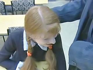 School Russian Uniform Pigtail Teen Russian Teen School Teen