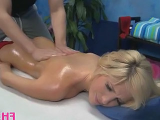 Massage Cute Oiled Blonde Teen Cute Ass Cute Blonde