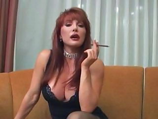 Hot Mature Vanessa Smoking Before Sex