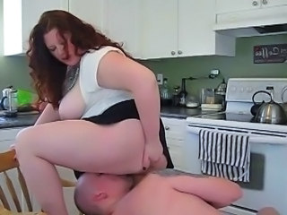 Facesitting Kitchen Big Tits Bbw Milf Bbw Mom Bbw Tits