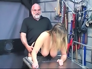 Slave Bdsm Bondage Old And Young Slave Busty Torture