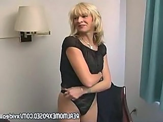 Amateur Blonde Mature  Mother