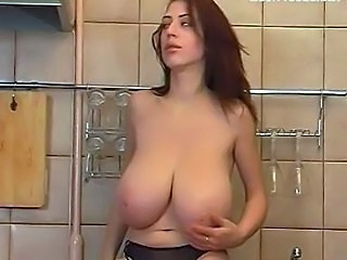 Natural Solo Kitchen Babe Big Tits Beautiful Big Tits Big Tits Babe