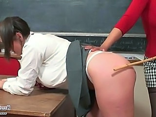 School Spanking Teacher Punish School Teacher Teacher Student