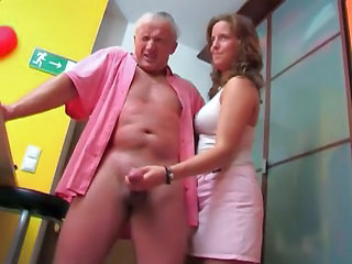 Teen Old and Young  Cfnm Handjob Handjob Teen Old And Young