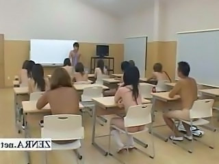 Nudist Student Asian Japanese School School Japanese Schoolgirl
