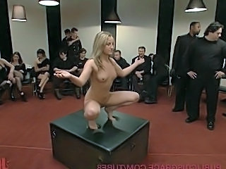 Hot Young Slut Used and Abused in the Kink.com Castle