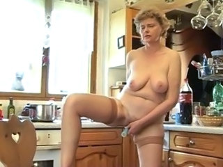 Saggytits Mature Masturbating Kitchen Mature Masturbating Mature Masturbating Mom
