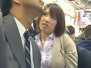 Asian Japanese MILF Bus + Asian Bus + Public Japanese Milf