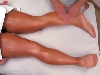 Legs Oiled Massage Babe Ass Massage Babe Massage Oiled