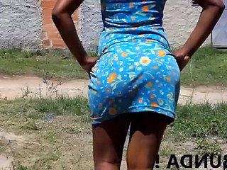 Ebony Outdoor Voyeur Ebony Ass Outdoor