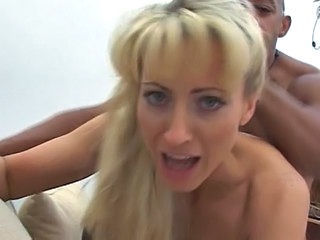 Doggystyle Interracial Blonde Interracial Blonde