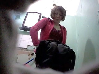 ex-wife in the toilet