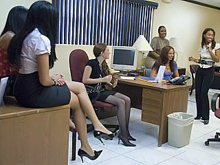 Party Stockings Cfnm Party Dirty Milf Office