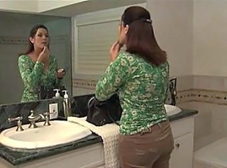 Bathroom Lesbian Mom Bathroom Mom Bathroom Tits Big Tits Milf